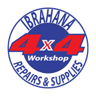 Ibrahana Car Centre and General Auto Spares Logo